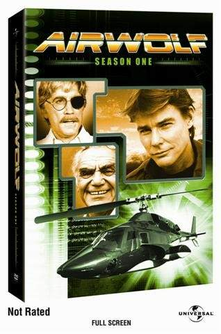 Jan-Michael Vincent Air Wolf: Season One DVD box art - 2005