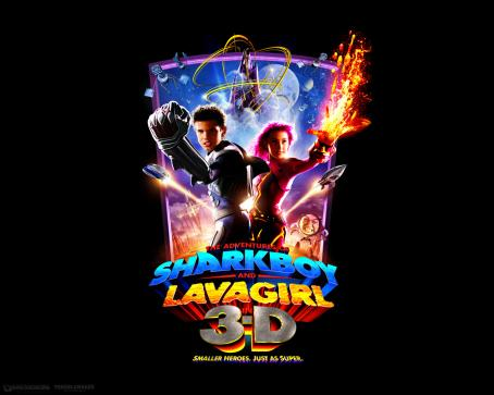 Taylor Dooley The Adventures of Shark Boy & Lava Girl in 3-D wallpaper - 2005
