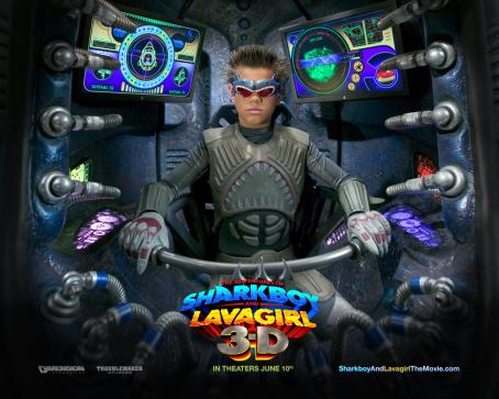 Sharkboy The Adventures of Shark Boy & Lava Girl in 3-D wallpaper - 2005