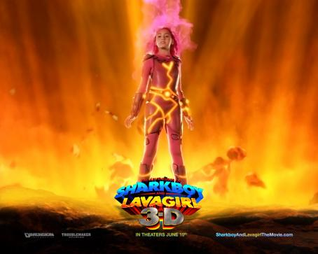 Taylor Dooley The Adventures of Shark Boy & Lava Girl in 3-D wallpaper - 2005