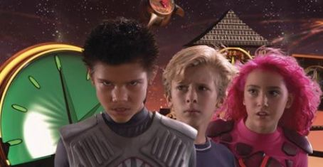 Sharkboy (Left to right) Taylor Lautner, Cayden Boyd, and Taylor Dooley. ©2005 The Adventures of Shark Boy & Lava Girl in 3-D/Dimension Films.
