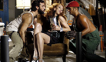 20 Centimeters Monica Cervera as Marieta (center) in TLA Releasing's 20 Centimetres - 2006