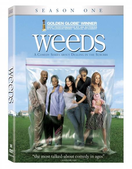 Romany Malco Weeds - 2006 DVD final Box Art