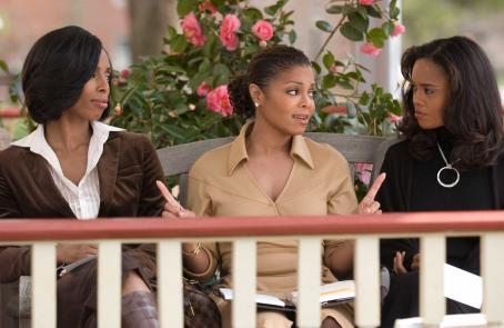 Tasha Smith (as Angela), Janet Jackson (as Patricia) and Sharon Leal (as Dianne) in TYLER PERRY'S WHY DID I GET MARRIED. Photo Credit: Alfeo Dixon
