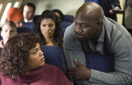 Denise Boutte In a scene from TYLER PERRY'S WHY DID I GET MARRIED? Jill Scott (as Shelia), Richard T. Jones (as Mike),  (as Trina, background). Photo Credit: Alfeo Dixon.