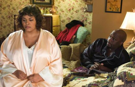 Why Did I Get Married? Shelia (Jill Scott) and her husband Mike (Richard T. Jones) in TYLER PERRY'S WHY DID I GET MARRIED? Photo Credit: Alfeo Dixon.