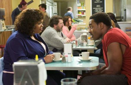 Lamman Rucker Shelia (Jill Scott) and Troy () in TYLER PERRY'S WHY DID I GET MARRIED? Photo Credit: Alfeo Dixon.