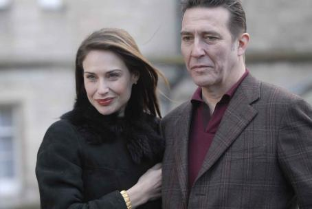 Ciarán Hinds Claire Forlani and  in MISTER FOE, a Magnolia Pictures release. Photo courtesy of Magnolia Pictures.