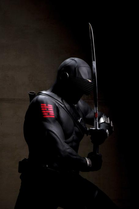 Ray Park  star as Snake Eyes in Paramount Pictures' G.I. Joe.