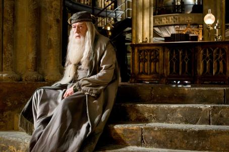 Michael Gambon MICHAEL GAMBON as Albus Dumbledore in Warner Bros. Pictures' fantasy 'Harry Potter and the Half-Blood Prince. Photo by Jaap Buitendijk. ©2008 Warner Bros. Entertainment Inc. - Harry Potter Publishing Rights © J.K.R.