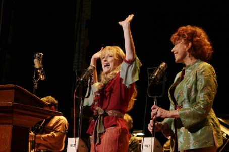 Lily Tomlin  and Meryl Streep in A Prairie Home Companion Photo by Melinda Sue Gordon