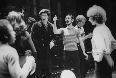 Marvin Hamlisch , Michael Bennett and the original cast of A Chorus Line. Photo taken by Martha Swope, 1975 ©, Courtesy of Sony Pictures Classics