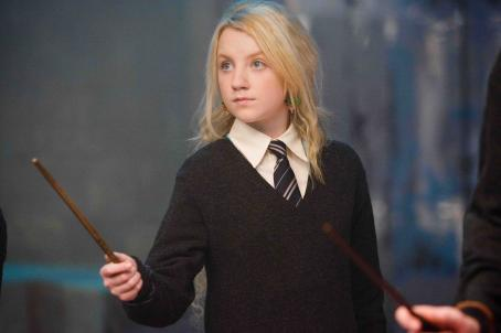 Evanna Lynch EVANNA LYNCH as Luna Lovegood in Warner Bros. Pictures' fantasy 'Harry Potter and the Order of the Phoenix.' Photo by Murray Close.