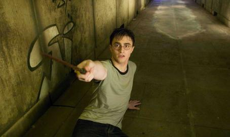 Harry Potter DANIEL RADCLIFFE as  in Warner Bros. Pictures' fantasy ' and the Order of the Phoenix.' Photo by Murray Close.