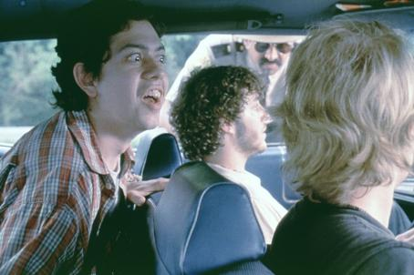 Geoffrey Arend, Andre Vippolis, Jay Chandrasekhar and Joey Kern in Fox Searchlight's Super Troopers - 2001