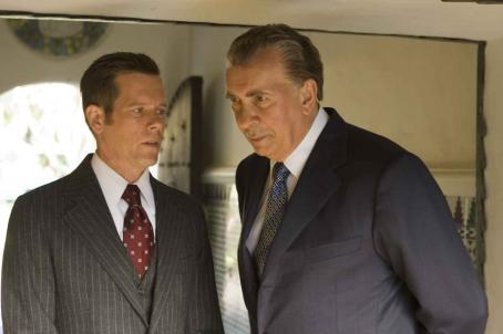 Frank Langella Kevin Bacon as Jack Brennan and  as Richard Nixon in Ron Howard drama 'Frost/Nixon.'
