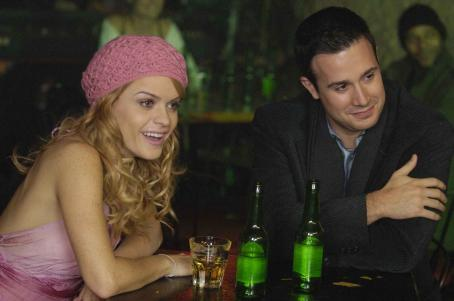 Taryn Manning  (Jill) and Freddie Prinze, Jr. (Jack) in JACK AND JILL VS THE WORLD courtesy of Empera Pictures.
