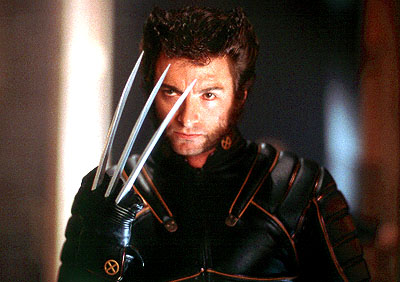 X-Men Hugh Jackman as Wolverine in 20th Century Fox's  - 2000