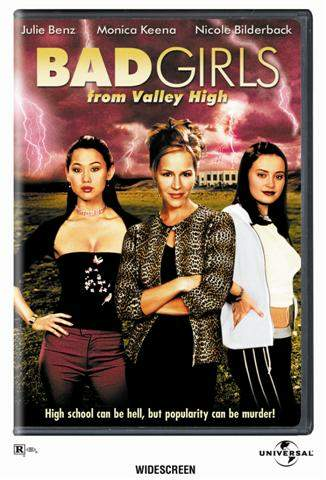 Monica Keena Bad Girls From Valley High DVD box art - 2000