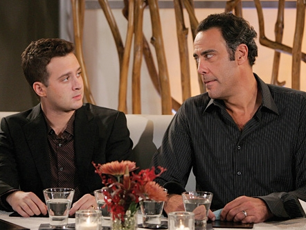 Eddie Kaye Thomas  as Jeff Woodcock and Brad Garrett as Eddie Stark in comedy 'Til' Death (TV Series)'