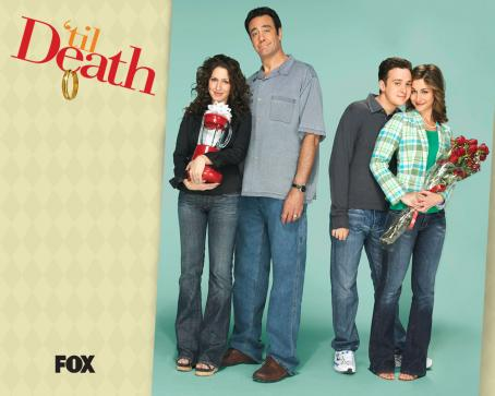 Kat Foster Til' Death (TV Series) Wallpaper