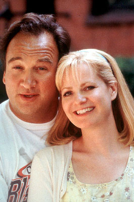 Bonnie Hunt Joe and Megan Dayton (James Belushi and ) in MGM's Return To Me - 2000
