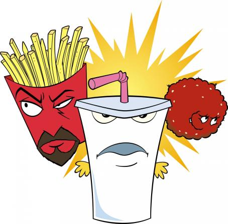 Aqua Teen Hunger Force Colon Movie Film for Theaters Group -  - 2007