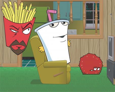 Aqua Teen Hunger Force Colon Movie Film for Theaters Room -  - 2007