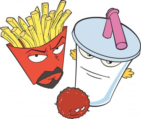 Aqua Teen Hunger Force Colon Movie Film for Theaters Downshot -  - 2007