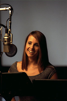 Jacqueline Obradors  as the voice of Audrey in Disney's Atlantis: The Lost Empire - 2001