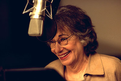 Florence Stanley  as the voice of Wilhelmina Bertha Packard in Disney's Atlantis: The Lost Empire - 2001