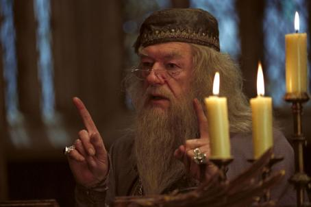 Michael Gambon  as Professor Dumbledore in Warner Bros. Pictures' 'Harry Potter and the Prisoner of Azkaban.'