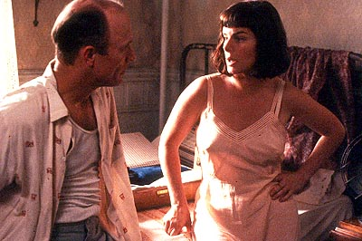 Marcia Gay Harden Ed Harris as Jackson Pollock and  as Lee Krasner in Sony Pictures Classics' Pollock - 2000