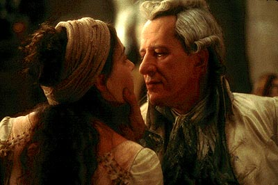 Quills Kate Winslet as Madeleine and Geoffrey Rush as the Marquis de Sade in Fox Searchlight's  - 2000
