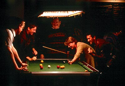 Saving Grace Martin Clunes, Craig Ferguson, Paul Brooke, Brenda Blethyn and Tristan Sturrock in Fine Line's  - 2000