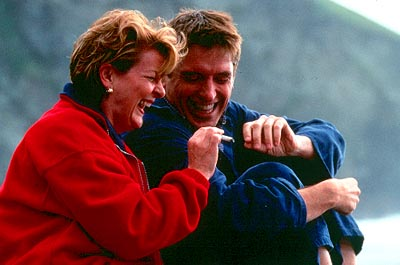 Saving Grace Brenda Blethyn as Grace and Craig Ferguson as Matthew in Fine Line's  - 2000