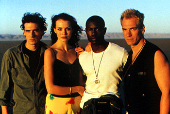 Julian Sands Stefano Dionisi, Saffron Burrows, Rodney Charles and  in The Loss Of Sexual Innocence