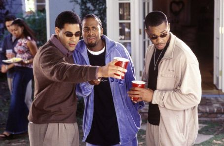 Deliver Us from Eva Mel Jackson (left), Dartanyan Edmonds (center) and Duane Martin (right) in Focus' Deliver Us From Eva - 2003