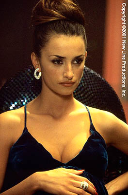 Mirtha Jung Penelope Cruz as Mirtha in New Line's Blow - 2001
