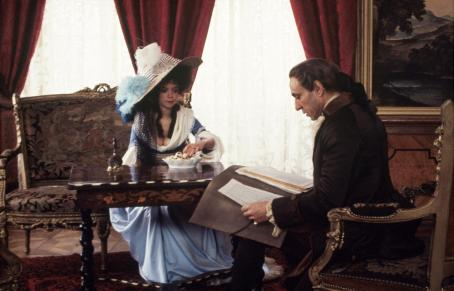 Elizabeth Berridge F. Murray Abraham and  in Amadeus - 1984