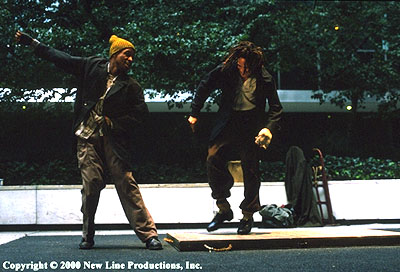 Bamboozled Tommy Davidson and Savion Glover in New Line's  - 2000
