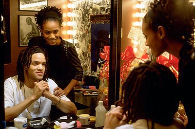 Bamboozled Savion Glover and Jada Pinkett Smith in New Line's  - 2000