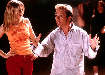 Martin Short Kirsten Dunst and  in Dimension's Get Over It - 2001