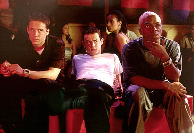 Colin Hanks Ben Foster,  and Sisqo in Dimension's Get Over It - 2001