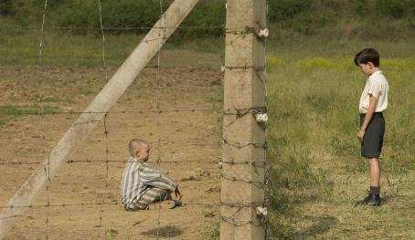 Asa Butterfield Jack Scanlon as Shmuel and  as Bruno. Photo Credit: David Lukacs/Miramax Films