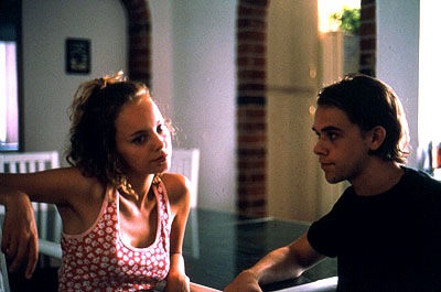 Nick Stahl Bijou Phillips and  in Lions Gate's Bully - 2001