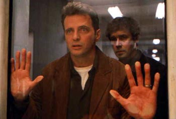 Aidan Quinn  and Stephen Rea in In Dreams