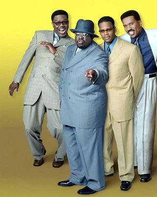 Steve Harvey Bernie Mac, Cedric The Entertainer, D.L. Hughley and  in Paramount's The Original Kings of Comedy - 2000
