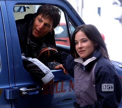 Caroline Dhavernas Todd Richards and  in Touchstone's Out Cold - 2001