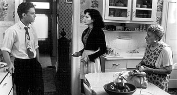 Liberty Heights Ben Foster, Bebe Neuwirth and Frania Rubinek in Warner Brothers'  - 11/99